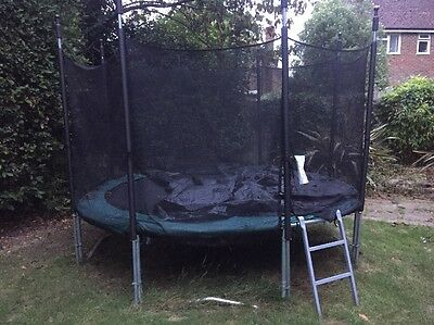 trampoline with enclosure, 10ft