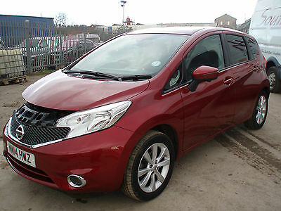 2014 Nissan Note 1.2 DIG-S ( 98ps ) CVT Tekna DAMAGED SALVAGE ( AUTO )