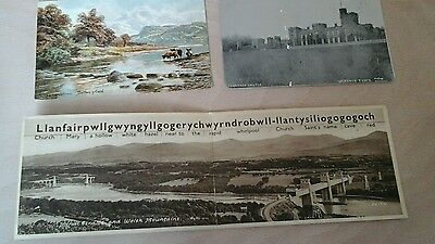 3 Vintage Original Postcards Waless, from 1906