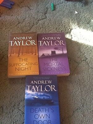 Books - Andrew Taylor - 3 book collection - Fiction Book