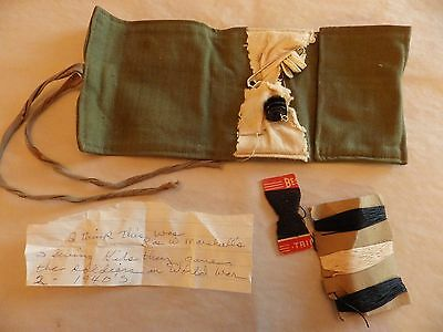 WWII Military US SEWING KIT