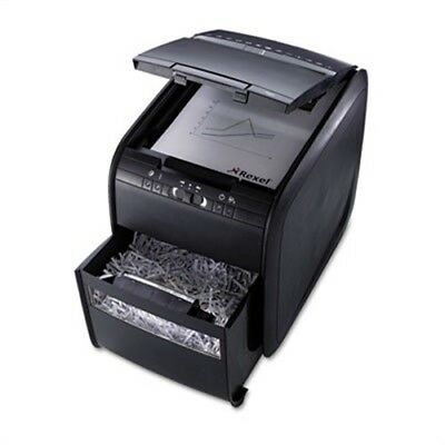 Stack-and-Shred 80X Hands-Free Cross-Cut Shredder, 80 Sheet Capacity