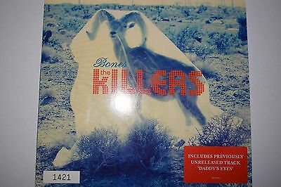 """THE KILLERS Bones 7"""" Red Vinyl (Numbered/Mint Record)"""