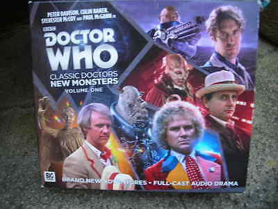 Doctor Who  Classic Doctors  'New Monsters' Vol 1. Audiobook CD