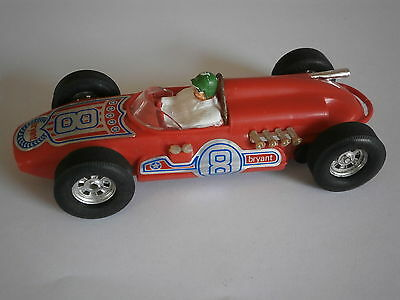 Scalextric C80 Offenhauser Rear Engine Red, Made in Hong Kong