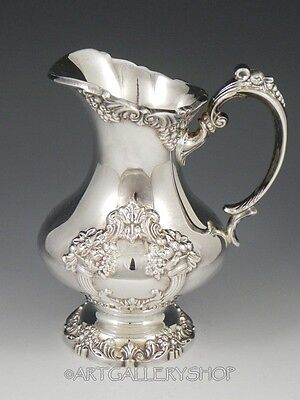 Reed & Barton King Francis #1653 SILVERPLATE CREAMER PITCHER