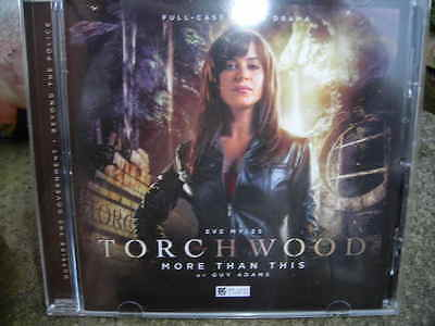 "Torchwood "" More ThanThis"" Audiobook CD"