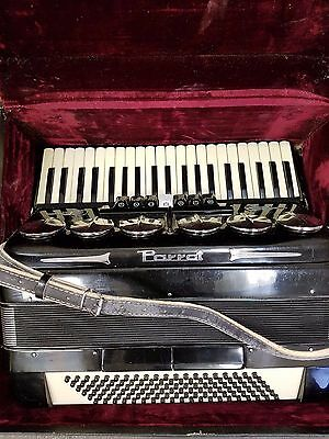 Vintage Parrot 120 Accordion Black with Hardcase