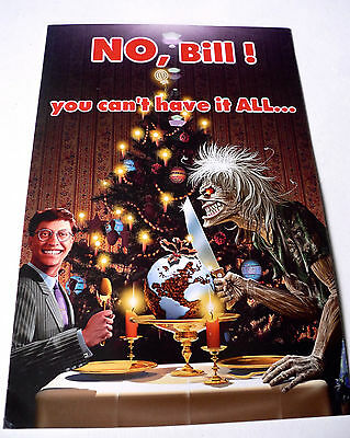 IRON MAIDEN Official Fan Club Christmas Card (2)