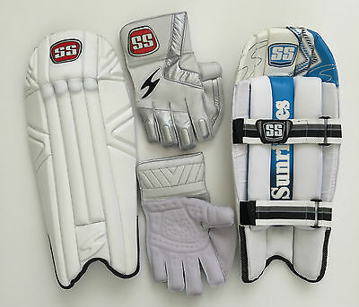 SS TON Cricket Wicket Keeping Gloves & Pads Reserve Edition: Custom Made