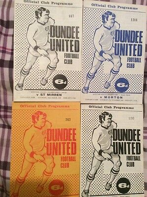 Dundee United 1968/69 Partick Th Morton Queens Park St Mirren