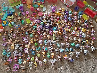 HUGE Bundle/Lot of Littlest Pet Shop and Animals + Accessories