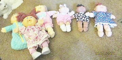 Lot of 6 Nice Cabbage Patch Dolls! Baby Cries So Real! My Own Baby! Newborns!