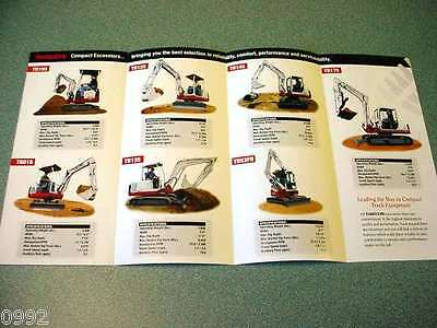 Takeuchi Mini Full Line Style Brochure
