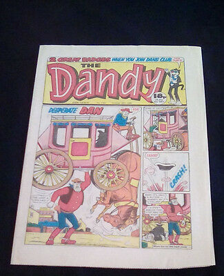 The Dandy 2343  October 18th 1986