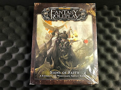 Signs of Faith (Warhammer Fantasy Roleplay 3rd edition) Unopened Box