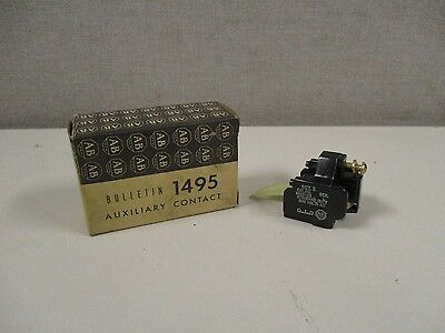 New Allen Bradley 1495-G3 Series L Auxiliary Contact