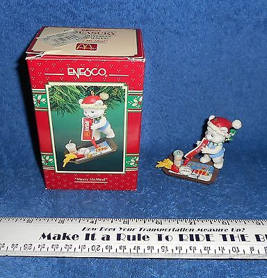 1995   ENESCO TREASURY  [   MERRY McMEAL   ]  McDONALD'S   ORNAMENT