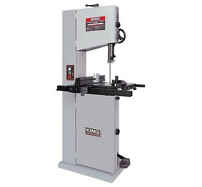 "King Canada Tools KC-1502FXB 14"" WOOD BANDSAW WITH 12"" RESAW CAPACITY Scie Ruban"
