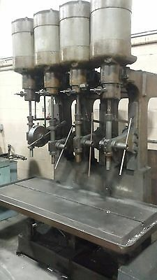 Allen 4 Spindle Drill Press