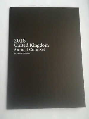 The 2016 Royal Mint  Annual Coin Set Booklet - Brand New (no Coins)