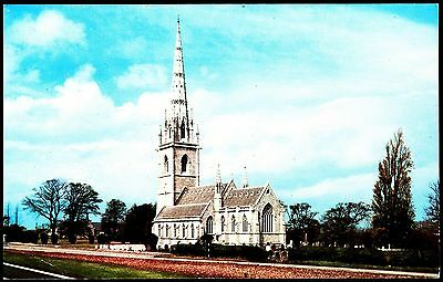 Postcard - The Marble Church Bodelwyddan  Denbighshire Wales Posted Stamp Intact