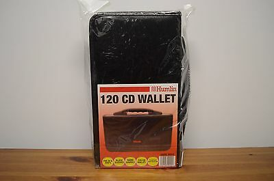 120 Cd Wallet Dvd Storage Carry Case With Black Sleeves - Humlin Brand