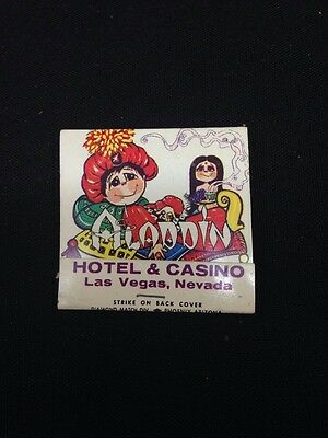 Vintage Aladdin HOTEL CASINO LAS VEGAS Matches Matchbook