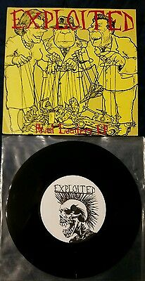 """Exploited Rival Leaders EP 7"""" Partisans Blitz Xtract Pax Records"""