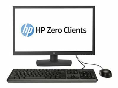 HP Zero Client t310 - Zero client - All-in-one - 1 x Tera2321 - RAM 512 MB -