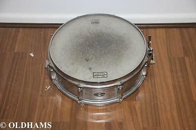 Vintage 1970's Slingerland Snare Drum in Chrome with Remo Head