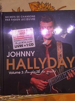 Livre Cd Johnny Hallyday Carrefour