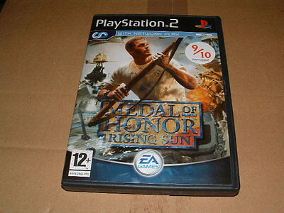 EA games Sony Playstation 2 Medal of Honour rising sun promo case only no game