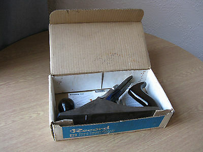 Vintage Record No.4 Plane, Made in Sheffield, In Original Box With Manual