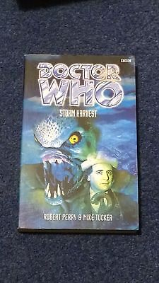 doctor who book - STORM HARVEST