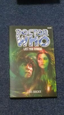 doctor who book - LAST MAN RUNNING