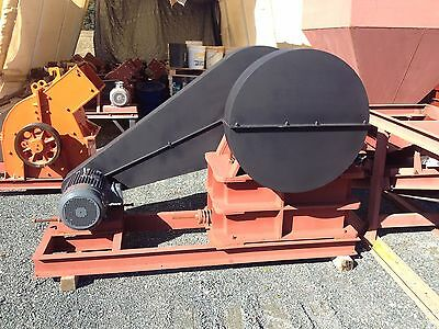 "Jaw Crusher Electric 10"" x 16"" 20hp for rock crushing, mining, concrete 5-20 TPH"
