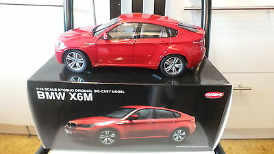 1/18 BMW X6M Red Kyosho 08762R
