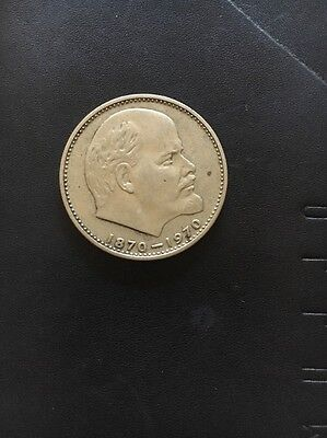 Russian coin Limited edition 1870-1970