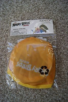 Angry Birds Foldable Flying Disk. New in packaging