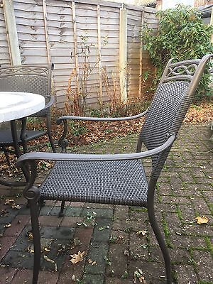 Leisuregrow Outdoor Garden Furniture Patio Table Set 4 Chairs Offers Accepted