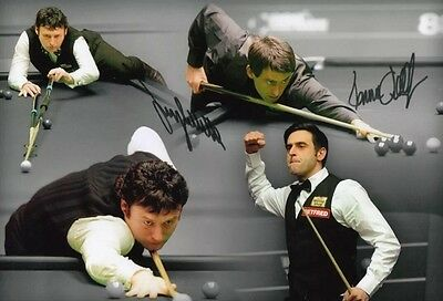 Ronnie O'sullivan Jimmy White Snooker Legends Signed A4 Size Lab Printed Photo