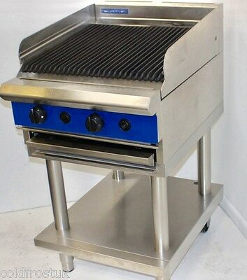Commercial Stainless Steel Chargrill  On Natural Gas