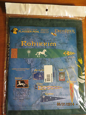 Flag of Rohirrim Lord of the Rings Official Collectors Item