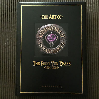 The Art of Oddworld Inhabitants: The First Ten Years, 1994-2004 - Limited Editio