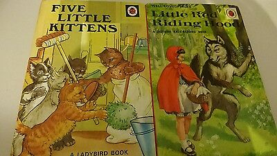 vintage ladybird books set of 2 series 606d and 401