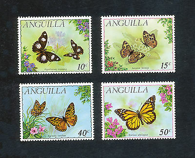 ANGUILLA - FAUNE Insectes Papillons - 1971