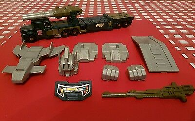 Transformers G1 ONSLAUGHT original COMPLETE  1980s toy