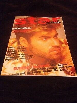 Star Gossip Monthly, George Michael Large Foldout Poster