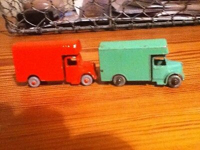 Matchbox Lesney No. 17 - Bedford Removals Van - 2 off both sound
